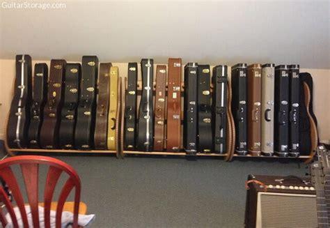 studio deluxe guitar case rack guitar storage