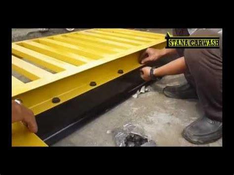 Hidrolik Cuci Mobil Peralatan Carwash Tipe Flas H pemasangan meja hidrolik cuci mobil type h