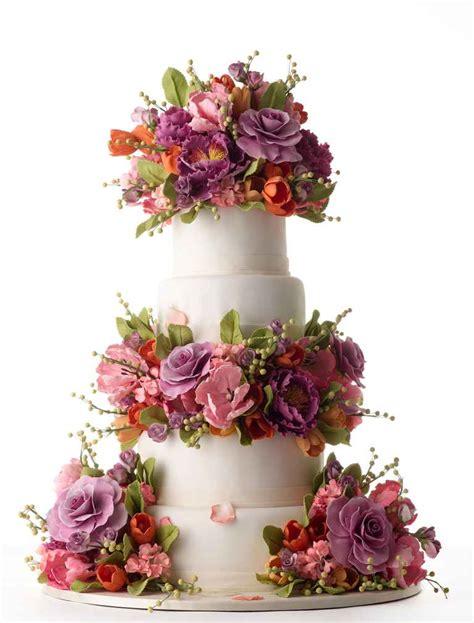 Sugar Flowers Wedding Cakes by The 25 Prettiest Wedding Cakes We Ve Seen
