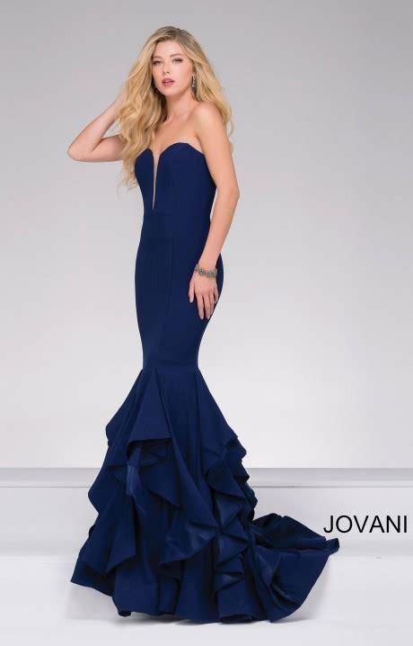 jovani  sweetheart strapless deep  neckline