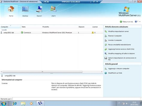 mps accesso standard multipoint server 2011 panoramica sull installazione