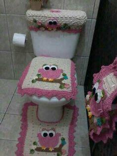 ripple bathroom set crochet pattern  knit
