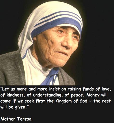 Teresa Quotes Teresa Best Quotes Quotesgram