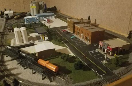 model train layouts & track plans in ho scale various