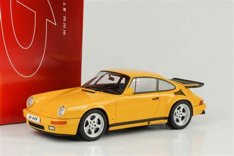 porsche yellow bird 1987 porsche 911 964 ruf yellow bird gelb 1 18 gt spirit