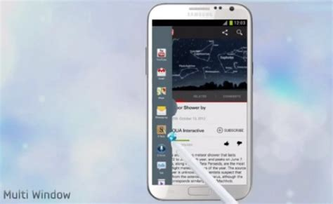 Samsung Multi Window curious about the samsung galaxy note 2 s multi window feature here are the supported apps