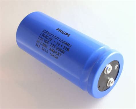 philips capacitor 3186 3186ef133t100bma1 philips capacitor 13 000uf 100v aluminum electrolytic large can computer grade