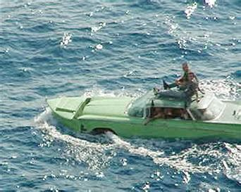 boat made into car buick made into a car boat