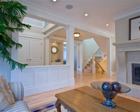 Wainscoting Height Dining Room Half Wall With Column Design Ideas Amp Remodel Pictures Houzz