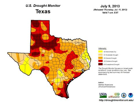 current texas drought map although not texas drought showing signs of improvement weather
