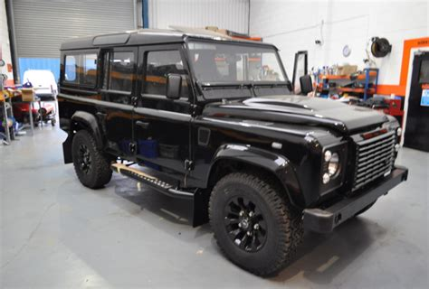 defender land rover 1997 custom 1997 land rover defender 110 bring a trailer