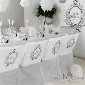 des housses de chaise pour votre d 233 coration de mariage