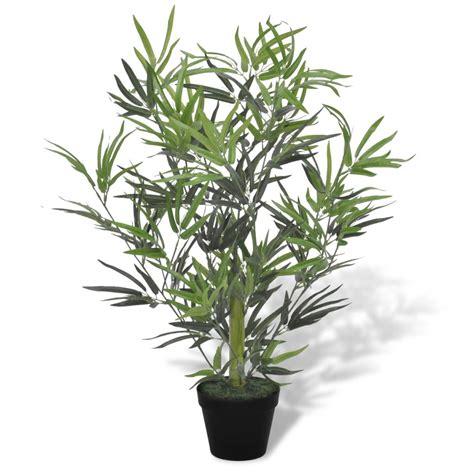 albero in vaso albero bamb 249 artificiale con vaso 80 cm vidaxl it