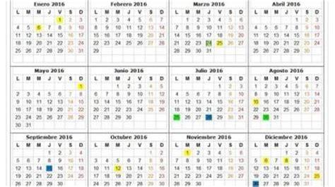 Calendario Escolar 2017 Cantabria Calendario Laboral Cantabria 2017 Definanzas