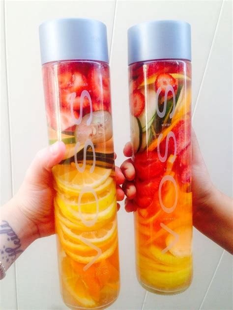 Detox Water Drink Bottle by How To Make The Best Out Of Voss Water With Fruit New