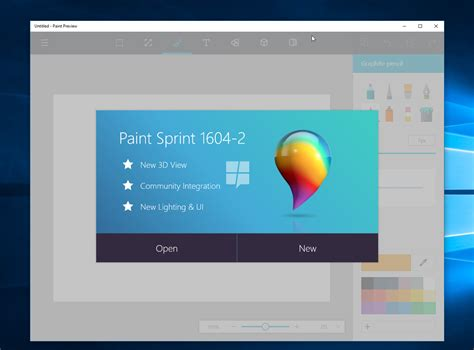 new paint microsoft could launch paint as a windows 10 app ubergizmo