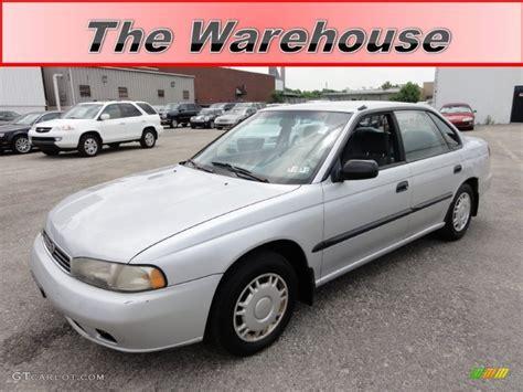1995 Subaru Legacy Sedan by 1995 Silver Metallic Subaru Legacy L Sedan 50768650