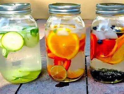 cara membuat infused water simple resep membuat minuman segar infused water harian resep