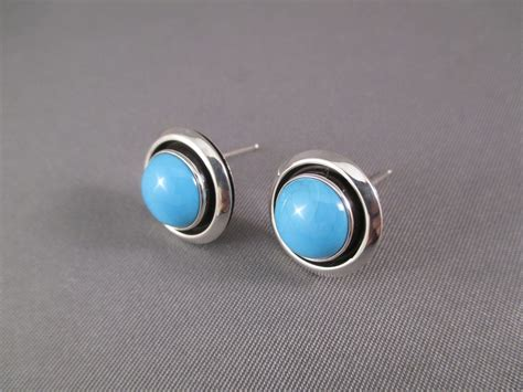 sleeping turquoise smaller sleeping turquoise sterling silver navajo
