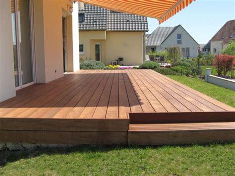 faire une terrasse en bois sur une dalle beton mzaol
