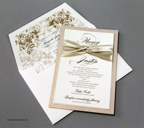 diy wedding place cards with ribbon wedding invitation inspirational diy wedding invitations with ribb softcardforbusiness