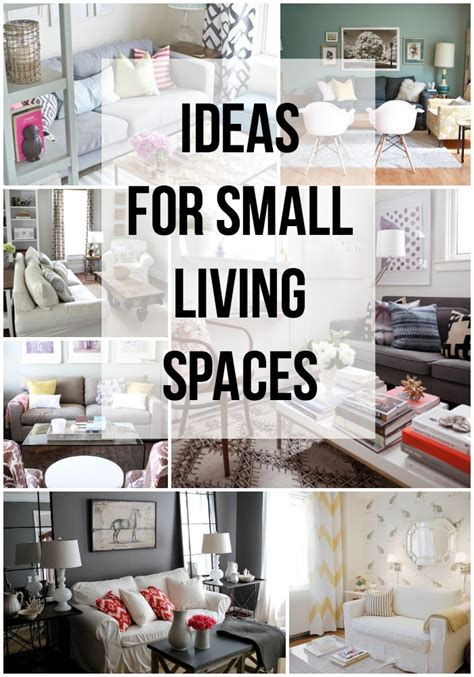Apartment Ideas For Small Spaces Ideas For Small Living Spaces