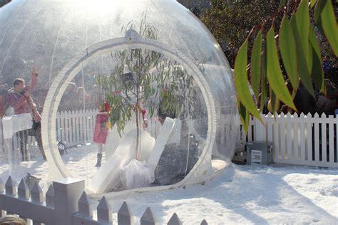 snow dome magical snow dome adventure federation square melbourne