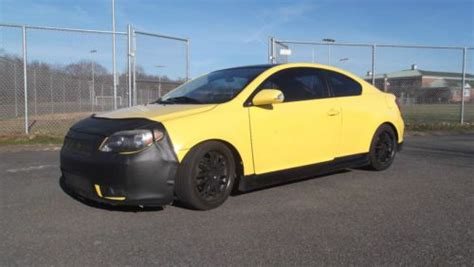 scion tc cylinder purchase used 2007 scion tc 2 door 4 cylinder 5 speed