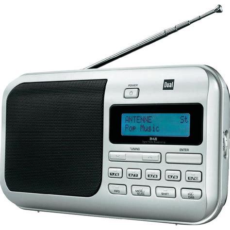 Bathroom Accessories Radio Dab Portable Radio Dual Dab 4 Dab Fm Silver From Conrad