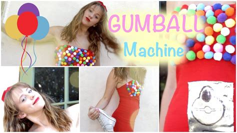 sday diy gumball machine costume    shirt