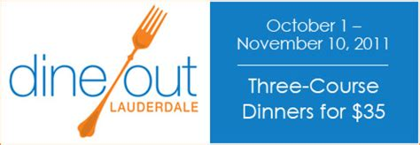 Open Table Dine Out Vancouver Dine Out Lauderdale Restaurant Week October 1 November 10 2011 Opentable