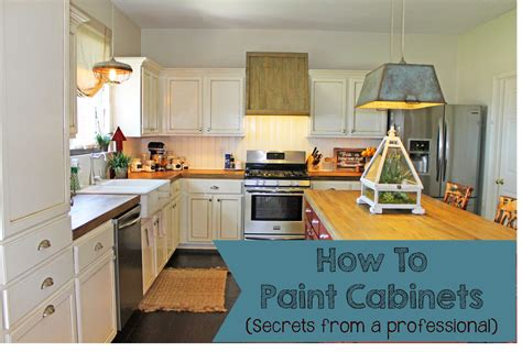 how to professionally paint kitchen cabinets the ragged wren how to paint cabinets secrets from a