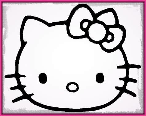 imagenes de kitty para iluminar cara hello kitty para colorear e imprimir archivos