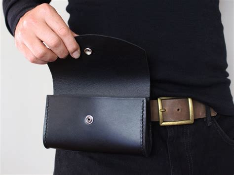 s leather belt bag american made original style