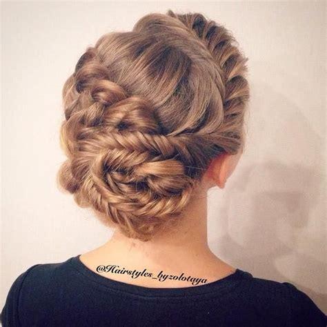 lace fishtail into a fishtail bun mimiamassari hair fishtail dutch braid into bun hairstyles for long hair