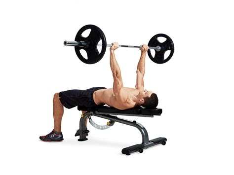 how long is a bench press bar bench press men s fitness