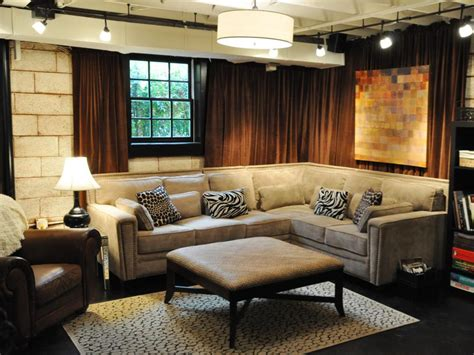 basement design basement design ideas hgtv