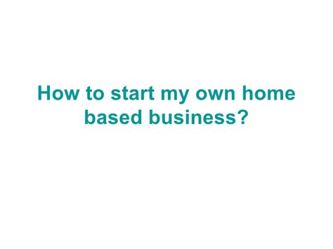 legitimate work from home based business opportunities and