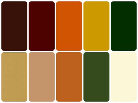 earthy color palette earthy colour palette earthy evolving decayed