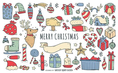 doodle merry doodle merry merry doodles collection vector doodle by
