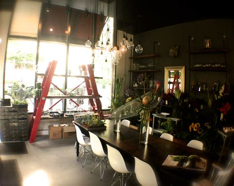 Christopher David Experience Design, A New Interiors / Florist / Coffee Bar In PDX