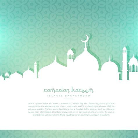 design background ramadan ramadan kareem greeting background vector free download