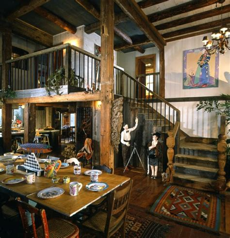 timber frame farmhouse  guest house