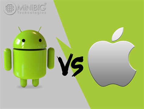 android vs iphone android vs iphone shall you switch from ios device to android device minibigtech
