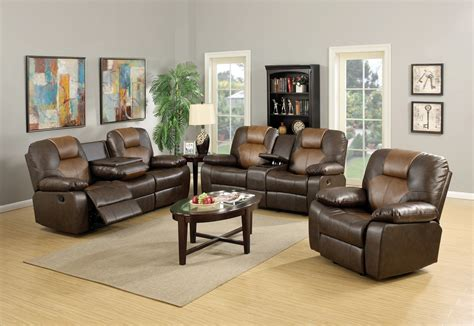 two tone reclining sofa mac s furniture two tone reclining leather sofa and loveseat