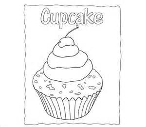 cupcake design template printable cupcake template 25 eps word documents