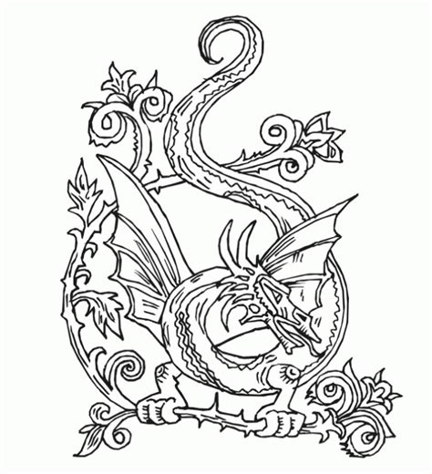 abstract dragon coloring pages beautiful dragon doodle art abstract coloring page for