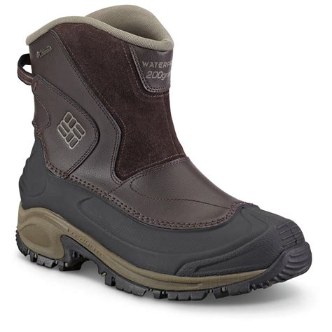 columbia mens winter boots columbia s bugaboots winter boots waterproof slip on