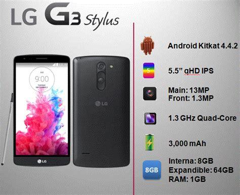 Lg G3stylus lg librer 237 a de ayuda g3 stylus especificaciones
