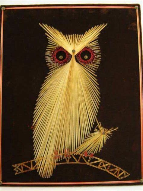 String Owl - 106 best images about owl stringart uil draadkunst on